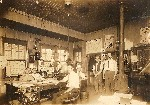 1918 Office with Charles Werner Co calendar Bellefonte PA OM.jpg (105645 bytes)